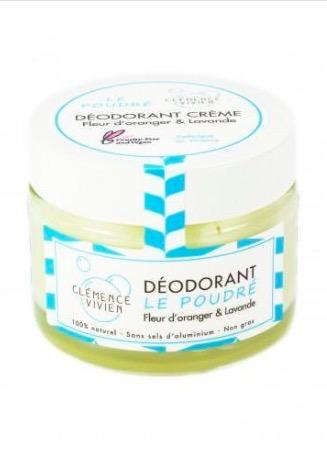idée cadeau homme : déodorant baume lavande et fleur d'oranger bio naturel et artisanal