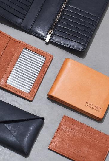 Idée cadeau homme : Le porte-carte O My Bag : cuir à tannage végétal, doublure en coton biologique, fabriqué de manière artisanale en Inde en commerce équitable