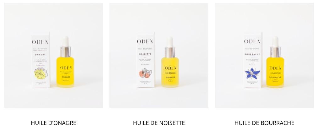 meilleurs produits de beauté biologique cosmétique bio naturel vegan cruelty free oden huile végétale