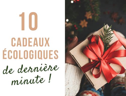 Mes idées de cadeaux de dernière minute écologiques éthiques responsables pour homme et femme ! #cadeau #noel #saintvalentin #fetedesmeres #fetedesperes #écologie #zérodéchet