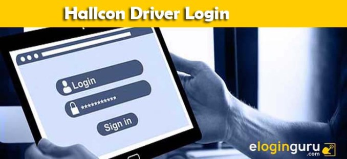 hallcon driver login