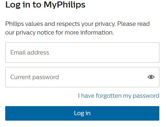 MyPhilips Login