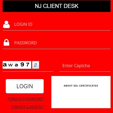 NJ Client Desk Login