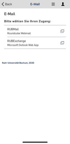 EUB webmail Mobil