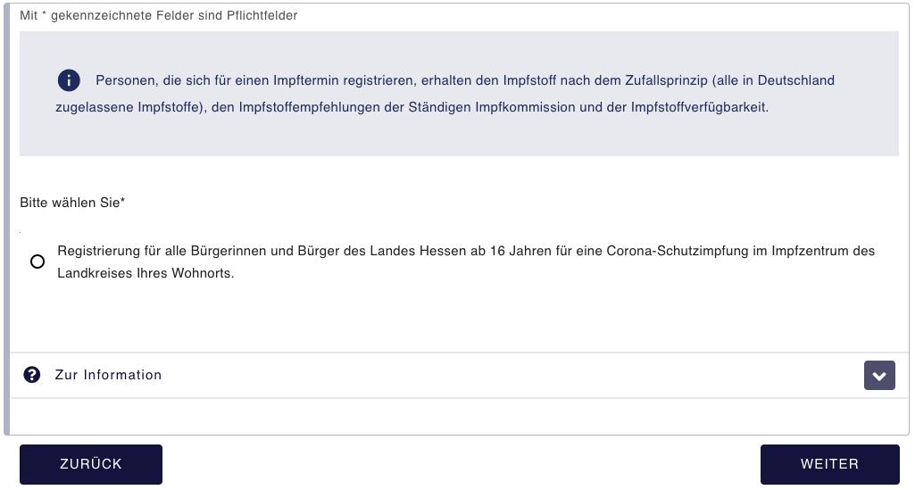 Impftermin Hessen 16 Jahre