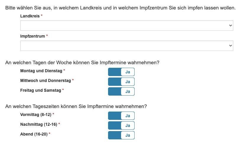 Mecklenburg-Vorpommern Impfung