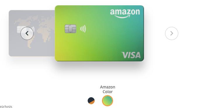 Amazon Kreditkarte bestellen
