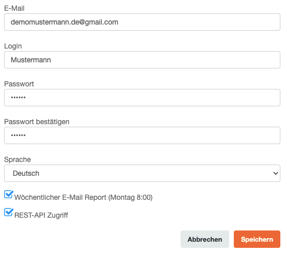 CleverReach Profildaten