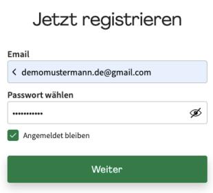 HelloFresh de registrieren