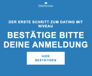 ElitePartner Login Bestätigung