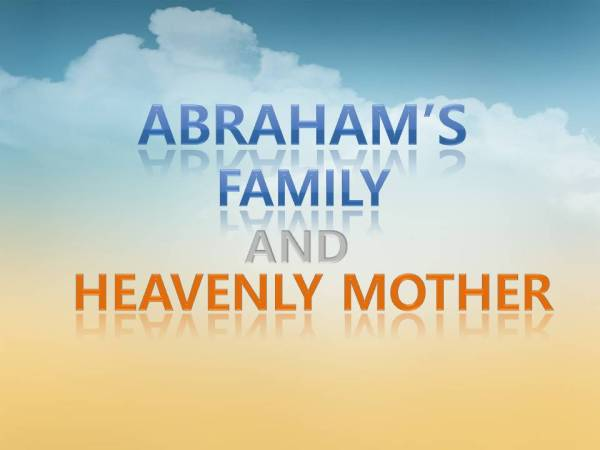 abraham and family # 24