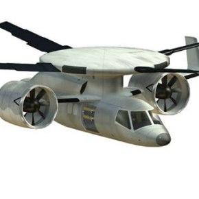 Disc-rotor-compound-helicopter - Avión-helicóptero