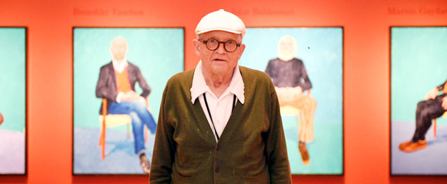 David Hockney en Bilbao