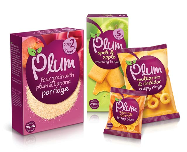 Packaging de Plum