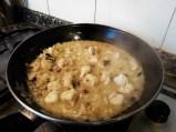 quinoa con rape y cebolla