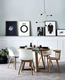 50+ Wall Décor Ideas for 2018 Dining Room Trend (14)