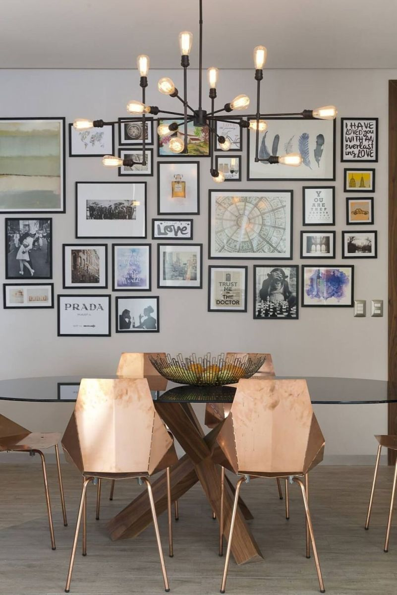 50+ Wall Décor Ideas for 2018 Dining Room Trend (57)
