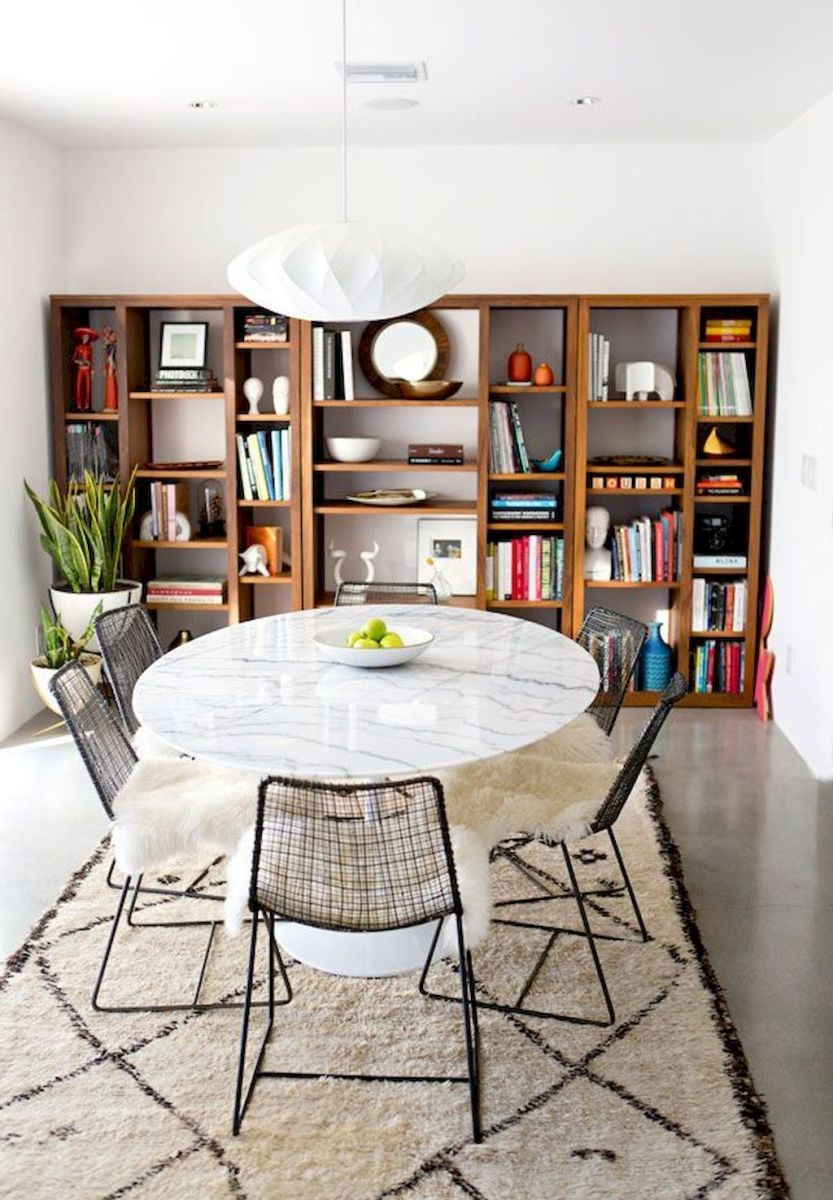 50+ Wall Décor Ideas for 2018 Dining Room Trend (58)