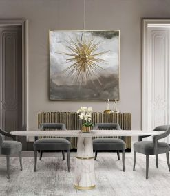 50+ Wall Décor Ideas for 2018 Dining Room Trend (68)