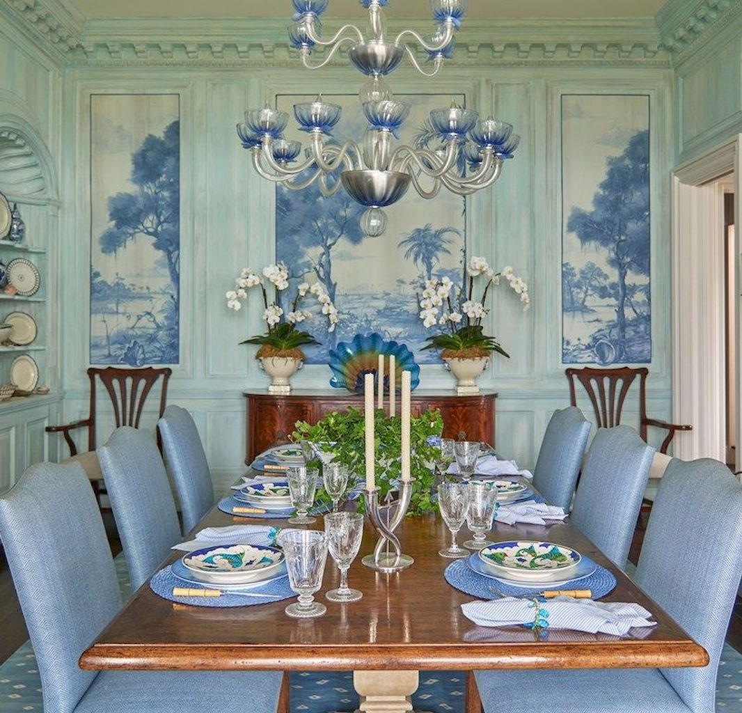 50+ Wall Décor Ideas for 2018 Dining Room Trend (73)