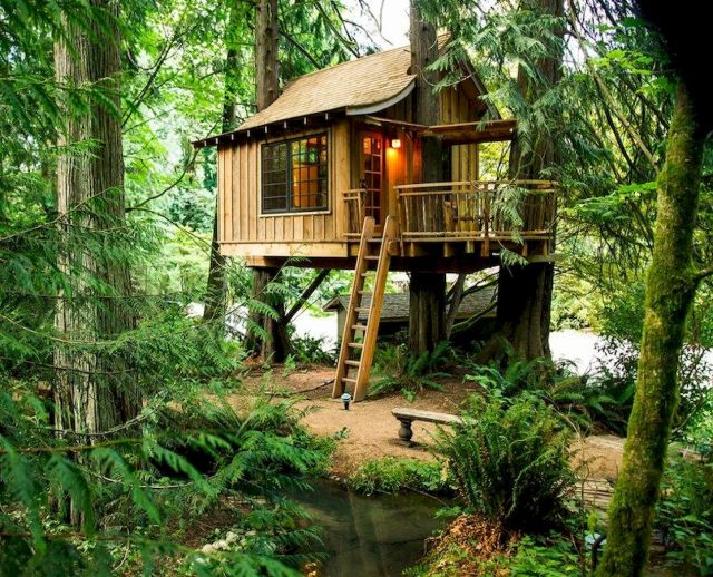DIY Treehouse For 2018 Summer Times (33)