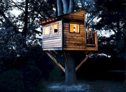 DIY Treehouse For 2018 Summer Times (49)