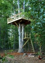 DIY Treehouse For 2018 Summer Times (5)