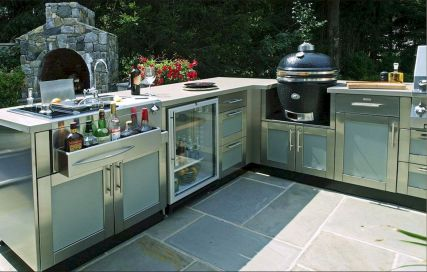 Inspiring Summer Outdoor Kitchen Ideas (18)