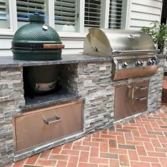 Inspiring Summer Outdoor Kitchen Ideas (31)