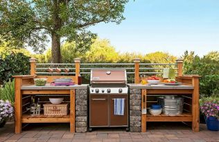 Inspiring Summer Outdoor Kitchen Ideas (45)