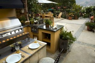 Inspiring Summer Outdoor Kitchen Ideas (46)