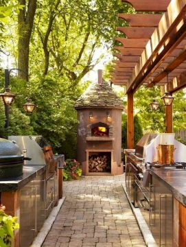 Inspiring Summer Outdoor Kitchen Ideas (5)
