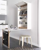 Storage Ideas for Small Kitchens That Look Compact and Efficient (46)