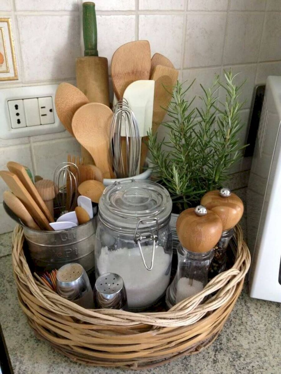 Storage Ideas for Small Kitchens That Look Compact and Efficient (59)