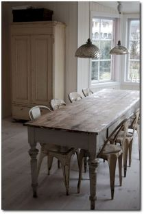 Farmhouse Dining Table Inspirations Part 16