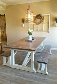 Farmhouse Dining Table Inspirations Part 22