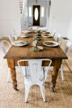 Farmhouse Dining Table Inspirations Part 26