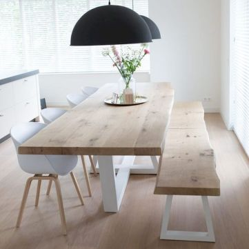 Farmhouse Dining Table Inspirations Part 35