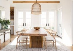 Farmhouse Dining room, Dining Table Inspirations, DIY dining table,