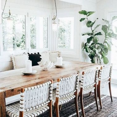Farmhouse Dining Table Inspirations Part 61