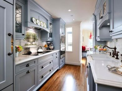 Galley Kitchens Inspirations Part 35
