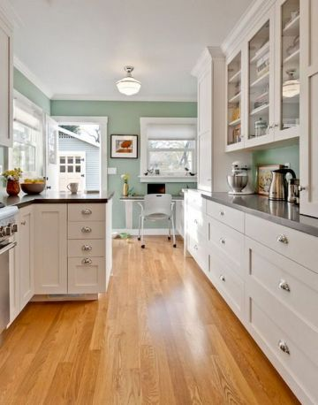 Galley Kitchens Inspirations Part 50