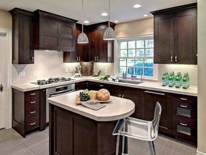 Kitchen Decor Ideas with Small Kitchen Islands Part 40