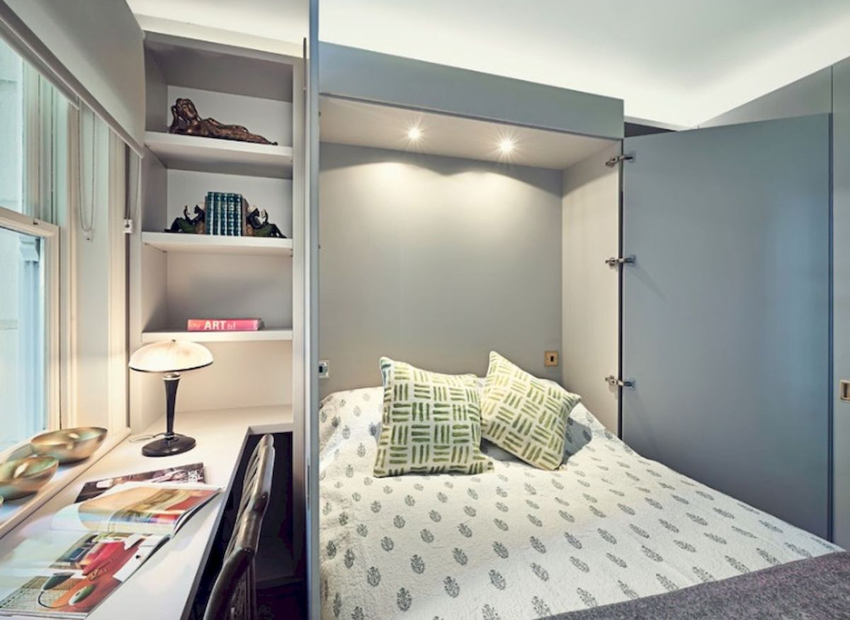 Small Bedroom Layout and Organization Part 12
