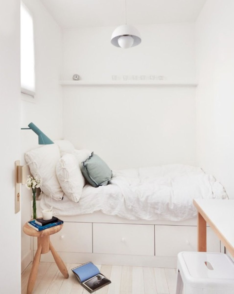 Small Bedroom Layout and Organization Part 31