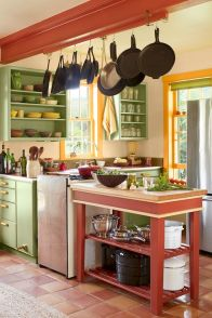 Best Modern Farmhouse Kitchen Coloring Ideas with Creative Farmhouse Kitchen Backsplashes and Colorful Kitchen Decorations Part 14