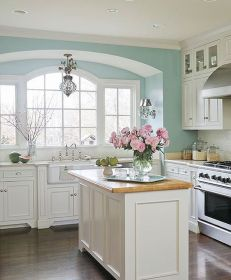 Best Modern Farmhouse Kitchen Coloring Ideas with Creative Farmhouse Kitchen Backsplashes and Colorful Kitchen Decorations Part 33