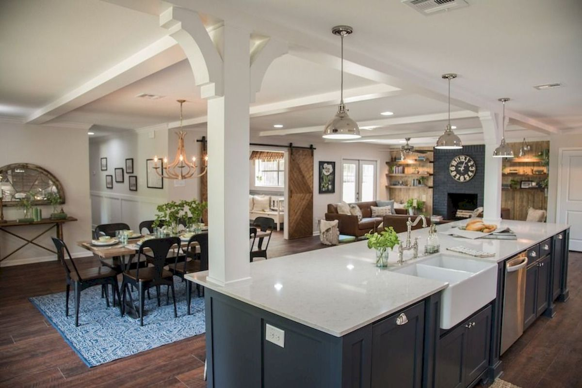 Best Open Kitchen Living And Dining Concepts Perfect For Modern And Traditional Interior Styles (16)