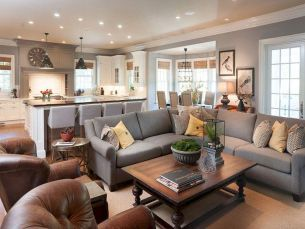 Best Open Kitchen Living And Dining Concepts Perfect For Modern And Traditional Interior Styles (34)