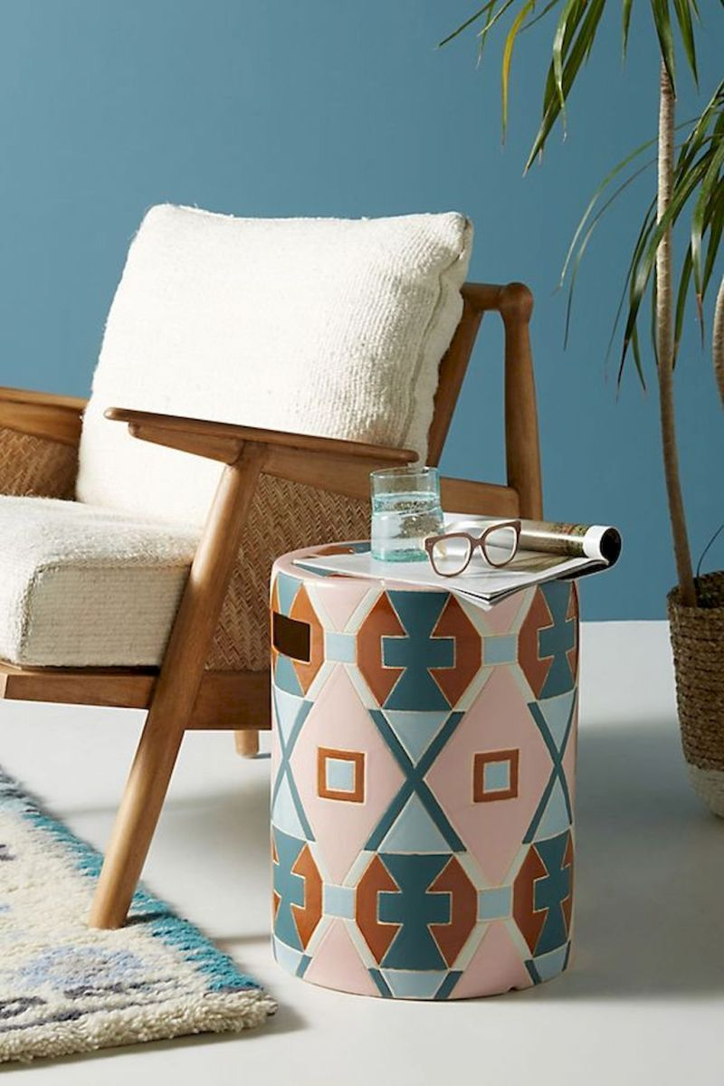 Creative Farmhouse Style Side Table Design Made From Scrap And Reclaimed Materials (10)
